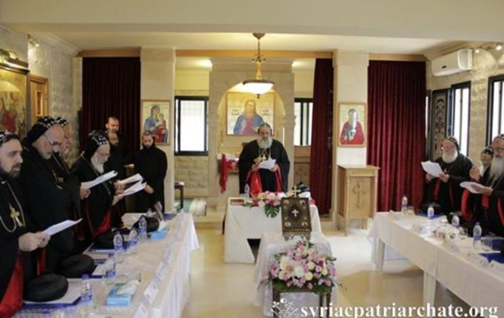 His Eminence Kawak Participates in The Holy Synod 2016