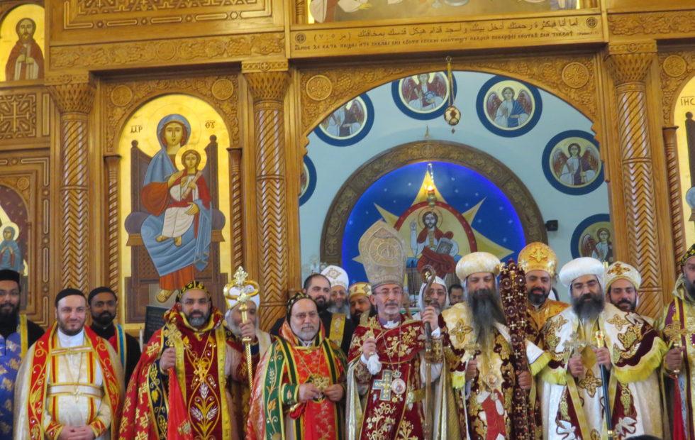 H.E Kawak Participates in the Con-celebration Liturgy of the SCOOCH