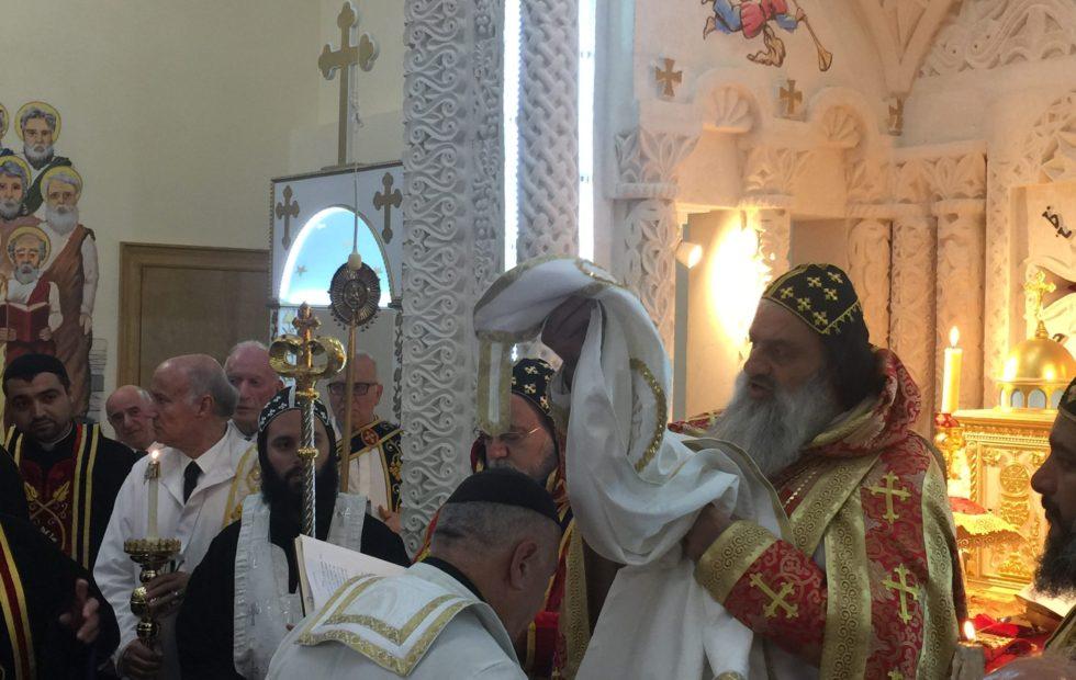 Elevation of Rev. Father Aziz Hadodo to the Rank of Corepiscopos