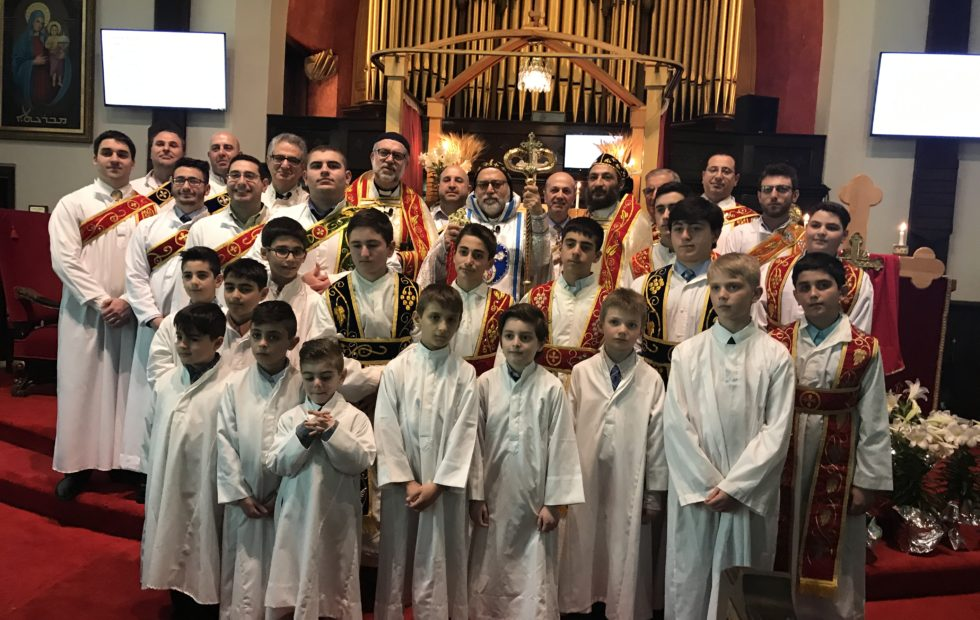 Deacons' Ordination at St. Matthew Church in Boston
