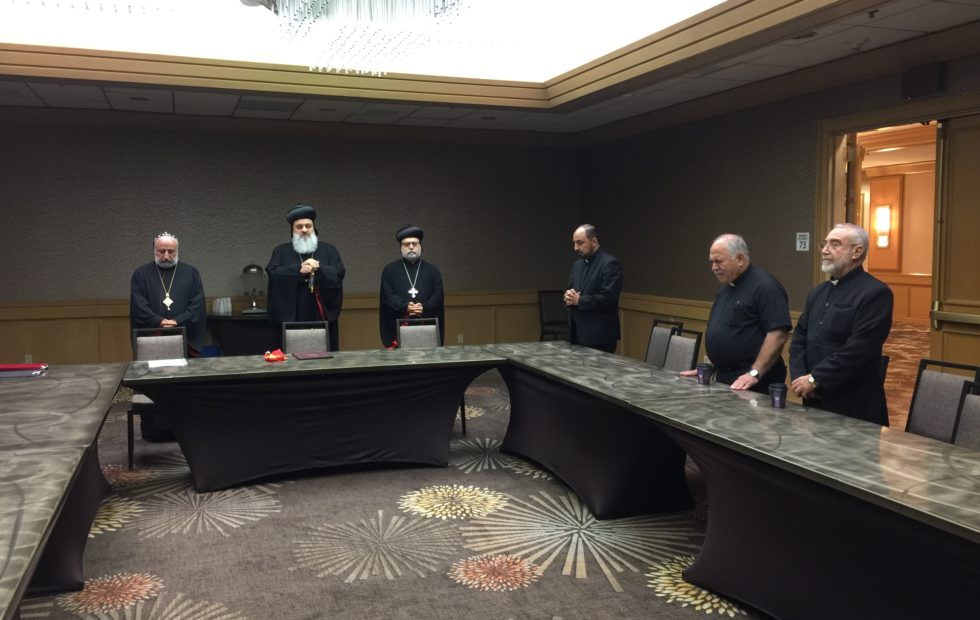 Clergy Meeting at The 53ed Convention