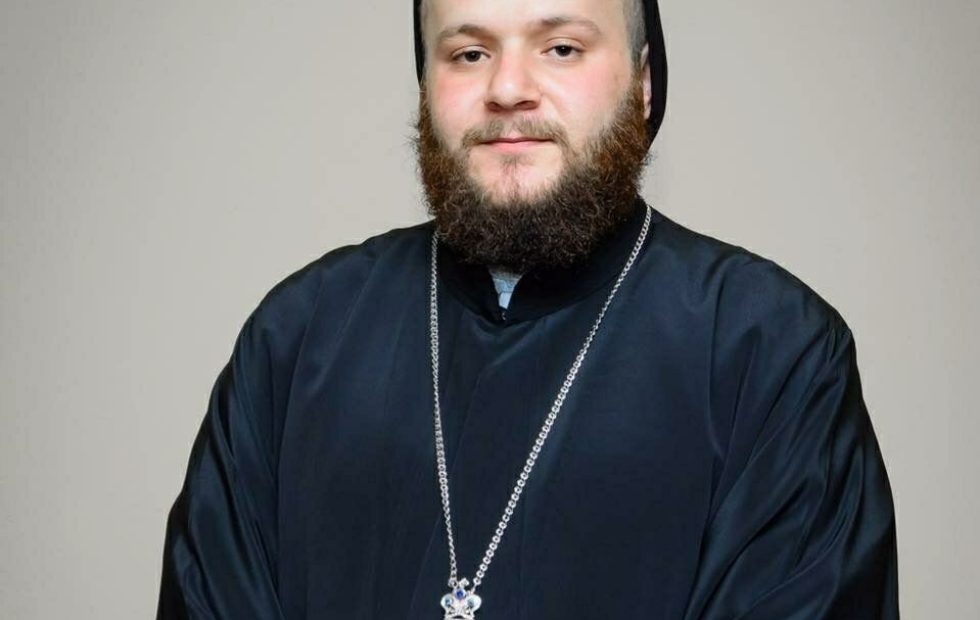 Congratulations to Very Rev. Fr. Augeen Alkhouri Nimat on earning his Master's Degree!