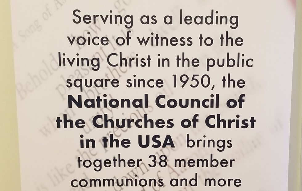 National Council of Churches meeting