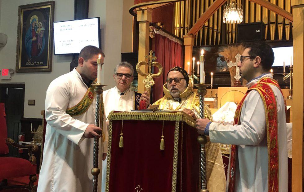 His Eminence Mor Dionysius John Kawak Pays a Pastoral Visit to St. Matthew's Parish in Boston
