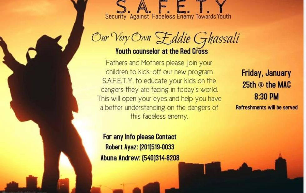 First Meeting of S.A.F.E.T.Y Program