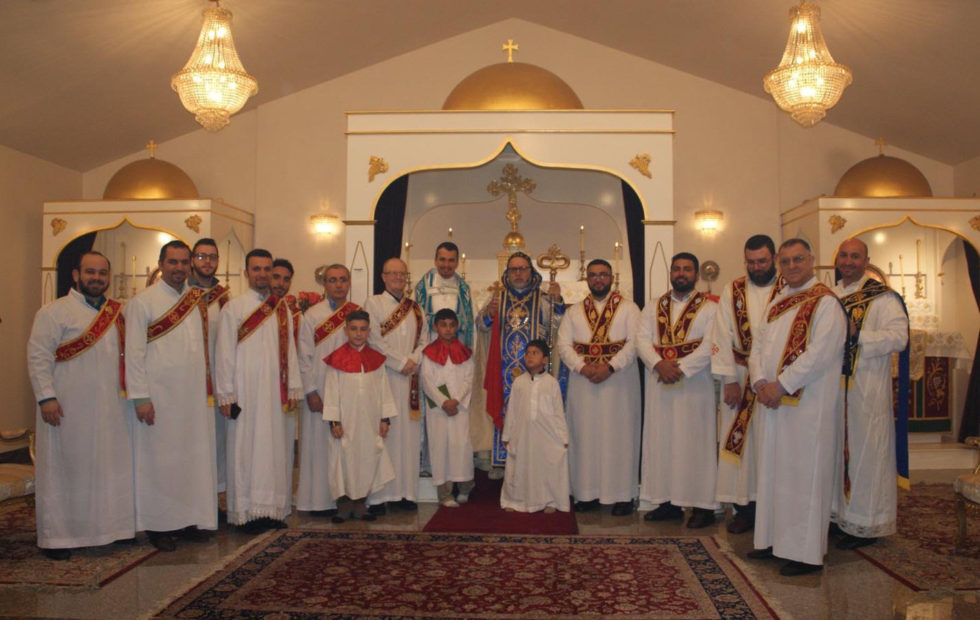 Shamoshe (Deacons) Ordination in D.C.