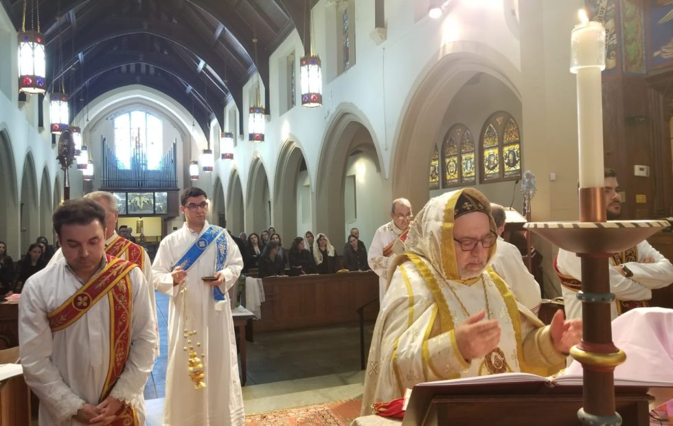 His Eminence celebrates Holy Liturgy at St. George in Brooklyn, New York